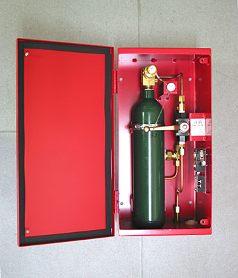 Carbon Dioxide Fire Extinguish System Fire Protection